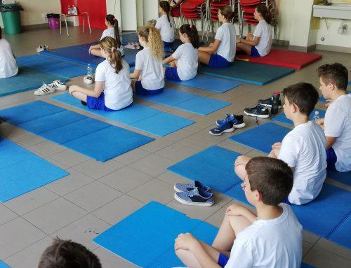 Lo Yoga a scuola